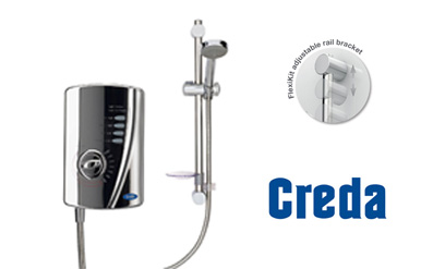 Creda 53557581 10.5kW All Chrome Electric Shower Review