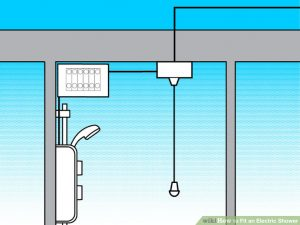 How to Fit an electric Shower